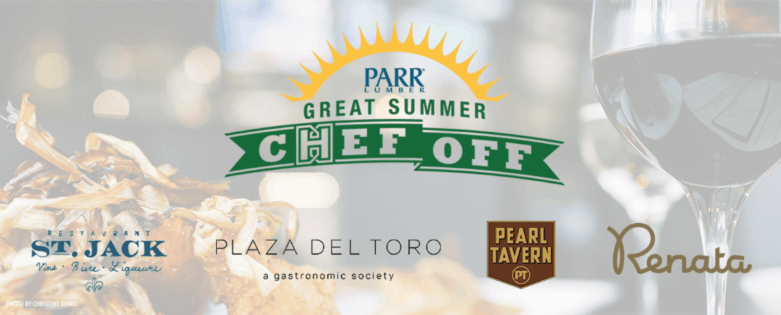 August 19, 2017 Summer Chef Off Tickets Are Live: Only A Few Seats Left!