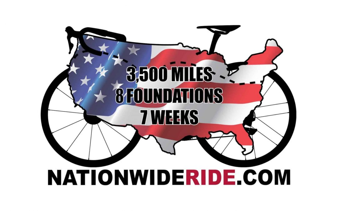 The Nationwide Ride Kicks Off July 5 on Good Morning America: Coast-to-Coast Cycling Charity Event